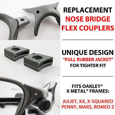 Flex Couplers Oakley X Metal Juliet XX X-Squared Mars Penny Romeo 2 Nose Parts