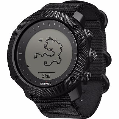 Suunto Traverse Alpha Stealth Mens GPS Outdoor Wrist Watch, Black - SS022469000