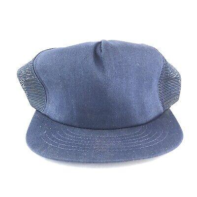 Vintage Swingster Blank Snapback Trucker Hat Cap 90s Made In USA Swingster