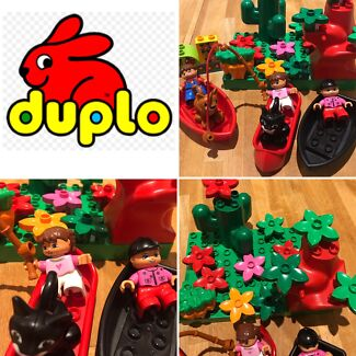 Duplo Lego Flower Garden Girls Boat