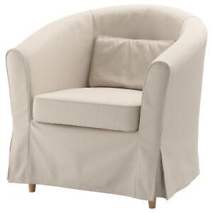 Ikea Rp Tullsta Chair Cover Lofallet Beige Slipcover Only