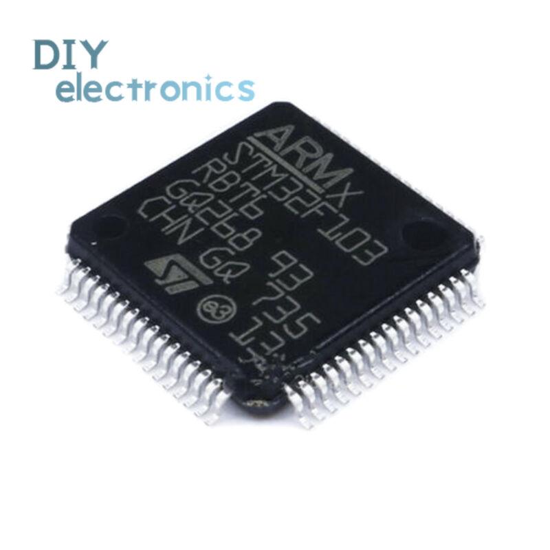 STM32F103RBT6 LQFP64 CORTEX M3 128K Flash 32 Bit MCU IC Microcontroller us
