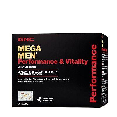 GNC Mega Men® Performance & Vitality Vitapak® Program
