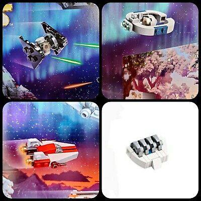 Lego Disney 2020 Star Wars Advent Calendar Tie Fighter A-wing etc Lot of 4