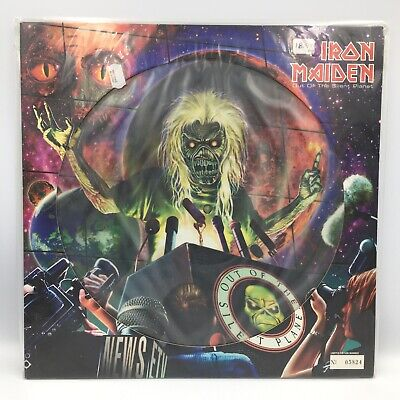 """IRON MAIDEN 12"""" PICTURE DISC OUT OF THE SILENT PLANET MINT NUMBERED ORIG UK 2000 comprar usado  Enviando para Brazil"""