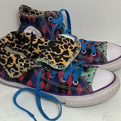 Name On Converse (Converse All Star Custom Hi Top Sneaker Size 5 SABRINA Name on Heel)