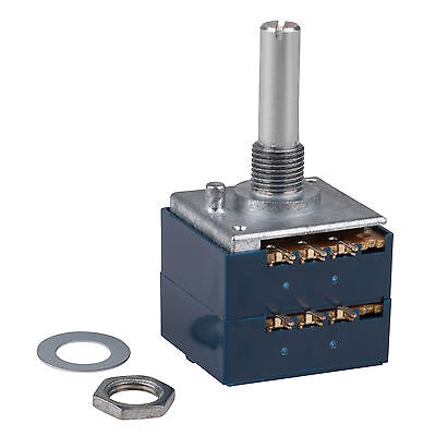 Alps Rk27 50ka Audio Taper Potentiometer Solid Shaft