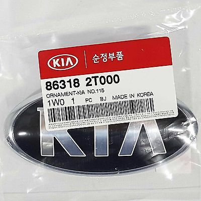 OEM 863182T000 Front Hood Emblem For KIA OPTIMA : 2011-2015, RiO5 : 2013-2014