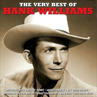 HANK WILLIAMS  *  50 Greatest Hits  *  2-CD SET  *  All Original Songs  *  NEW