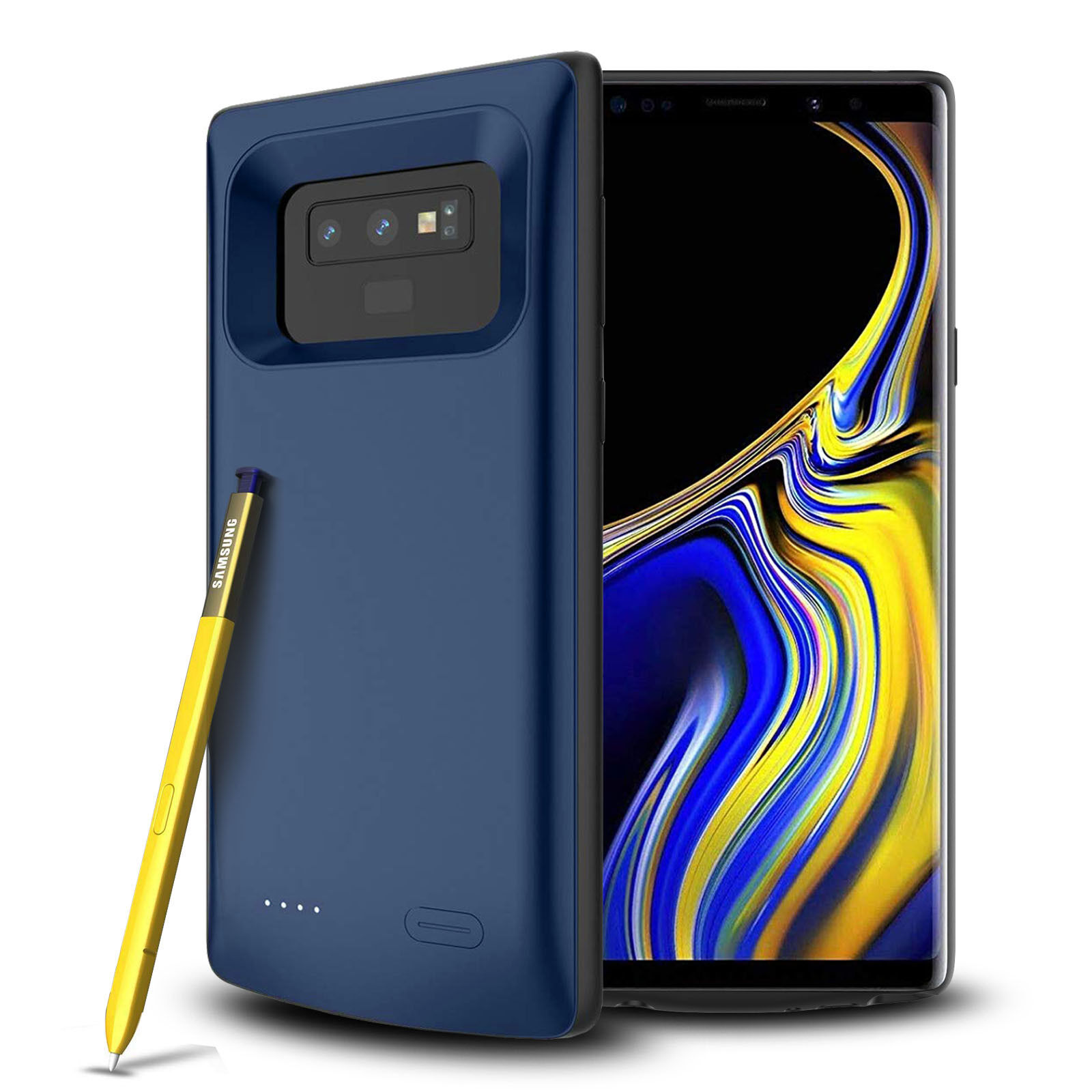 For Samsung Galaxy Note 9 Battery Case Smart Charger Power B