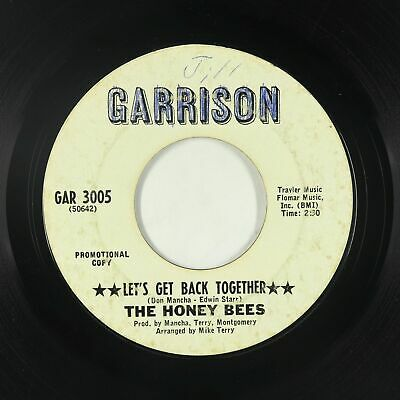 Northern Soul 45 - Honey Bees - Let's Get Back Together - Garrison - mp3 - rare!