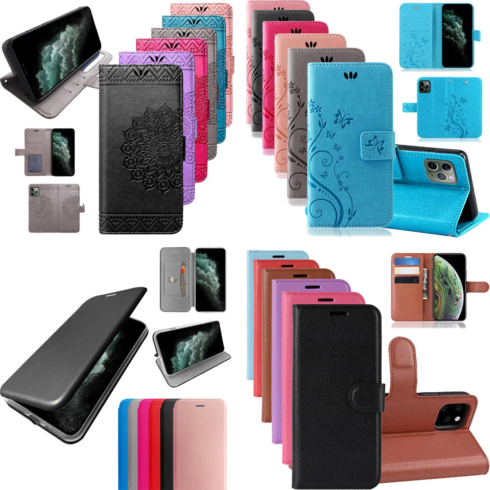 Apple iPhone 11 Pro Max Hülle Handy Tasche Flip Case Schutz Wallet Etui Schale