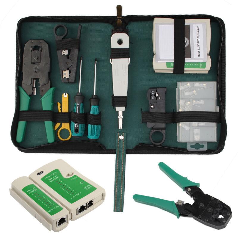 Netzwerk Werkzeug-set, Crimpzange, Lsa Anlegewerkzeug, Kabeltester