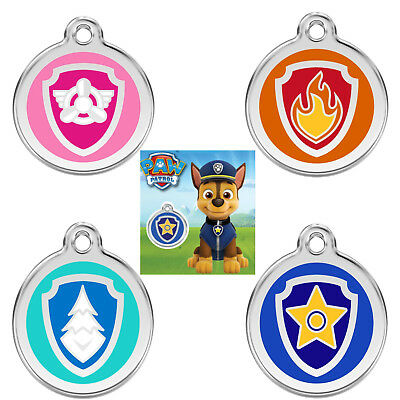 Kids Dog Tags (PAW PATROL DOG / CAT TAGS / CHILDS KEYRING - GUARANTEED FOR LIFE &)