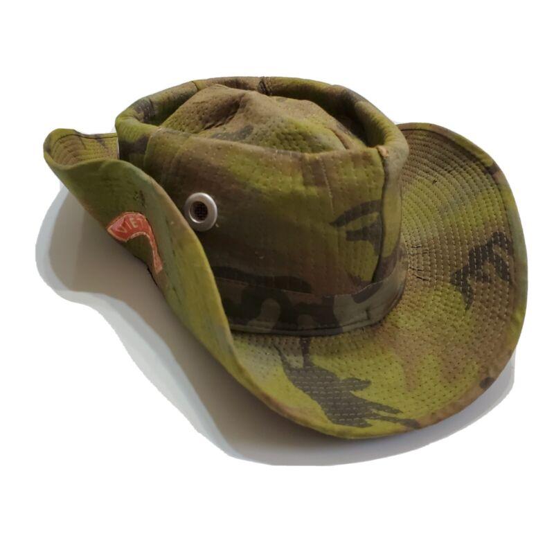 1960s Vietnam War Advisor Boonie Bush Hat Camouflage Military
