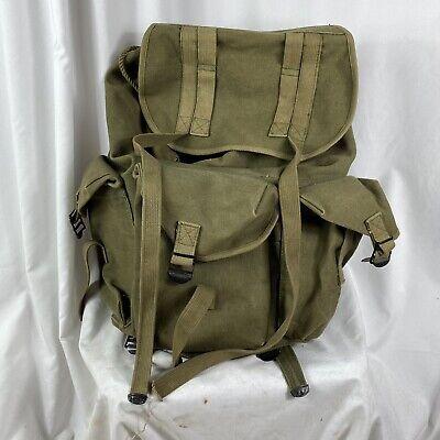 Vietnam War US Army Backpack Ruck Sac