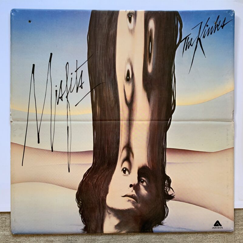 "Original 1978 Kinks Misfits Cardboard Promotional Rock Hanging Display 36"" X 36"""