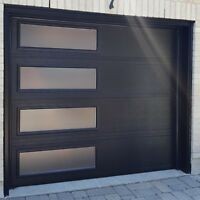 8x7 MODERN GARAGE DOORS....... ONLY $1450 INSTALLED