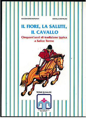 DISPERATI GASTALDO IL FIORE LA SALUTE IL CAVALLO IPPICA SALICE TERME 1998 PAVIA