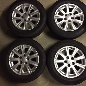 AUIII/BA FACTORY ALLOY MAG WHEELS Blacktown Blacktown Area Preview