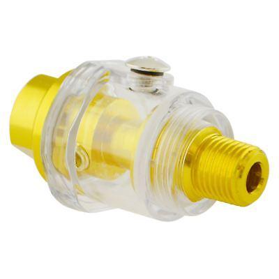 14 Bsp Mini In Line Oiler Air Tool Oiler Lubricator Compressor Pipe Oil Te843