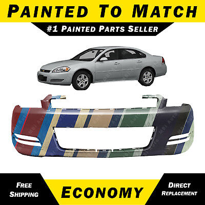 NEW Painted To Match - Front Bumper Cover for 2006-2013 Chevy Chevrolet Impala