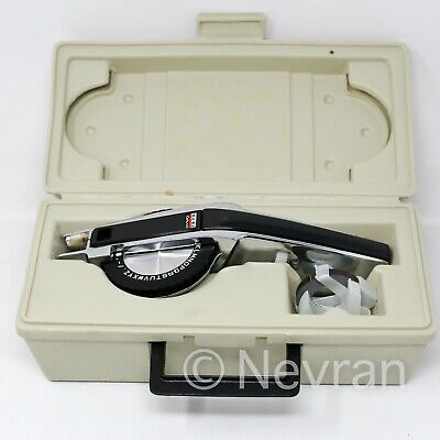 Vintage Dymo 1570 Deluxe Chrome Metal Tapewriter Custom Label Maker Working
