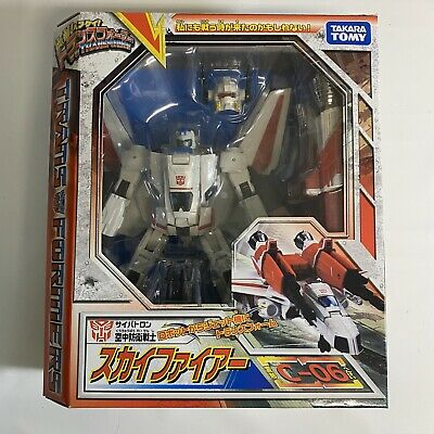 New Transformers Takara Tomy Henkei Classics C-06 Jetfire Skyfire