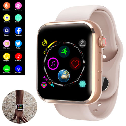 Bluetooth Smart Watch Sync Call Music For Android Samsung Ga