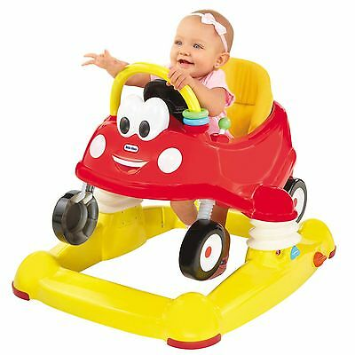 NEW LITTLE TIKES 3 IN 1 COZY COUPE MUSICAL BABY ACTIVITY CAR WALKER / BOUNCER