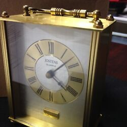 AT&T / NW Bell Jostens  Quartz Small Desk Clock West Germany Battery Operated