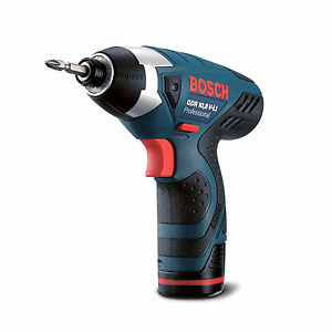 bosch gdr 10 8v li cordless impact driver drill body only no retail packing. Black Bedroom Furniture Sets. Home Design Ideas