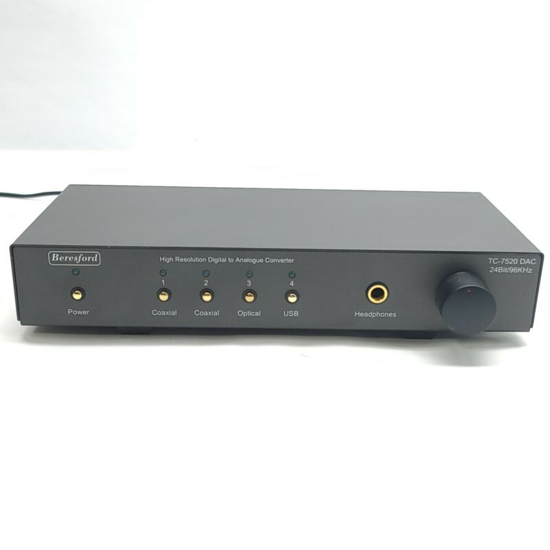 Beresford TC-7520 DAC Headphone Amp & PreAmp