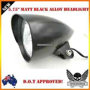 """Brand New Harley 5.75"""" headlight matt/gloss black Doncaster Manningham Area Preview"""