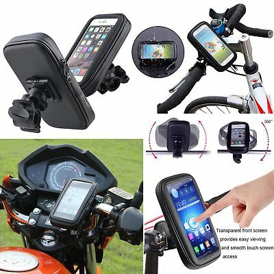 360° Waterproof Bike Bicycle Mount Holder Phone Case Cover iPhone S3 Universal
