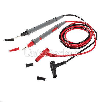 40.7 Universal Silicone Digital Multimeter Probe 10a Multi Meter Test Lead Wire