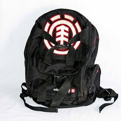 Element Skateboard Backpack w/ Skateboard Straps