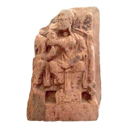 Red Sandstone Frieze, Maha Maya (Prediction of Asita), 2nd - 4th century*, India