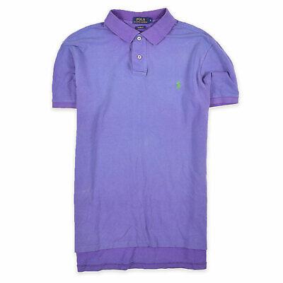 Ralph Lauren Herren Polo Poloshirt Shirt Classic Gr.L Custom Fit Lila 94378 online kaufen