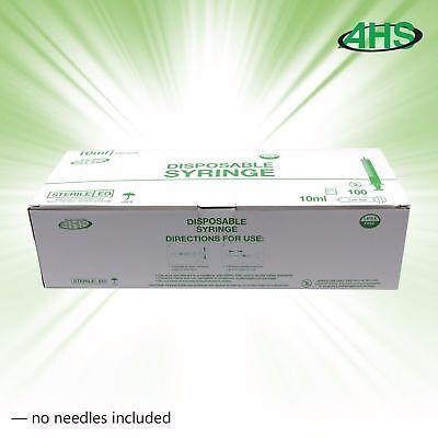 10ml 10cc Luer Slip Syringe Sterile 100box