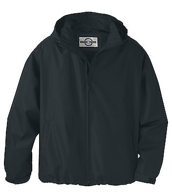 New MEN'S TECHNO LITE JACKET WINDBREAKER - Black Mens Techno Lite Jacket
