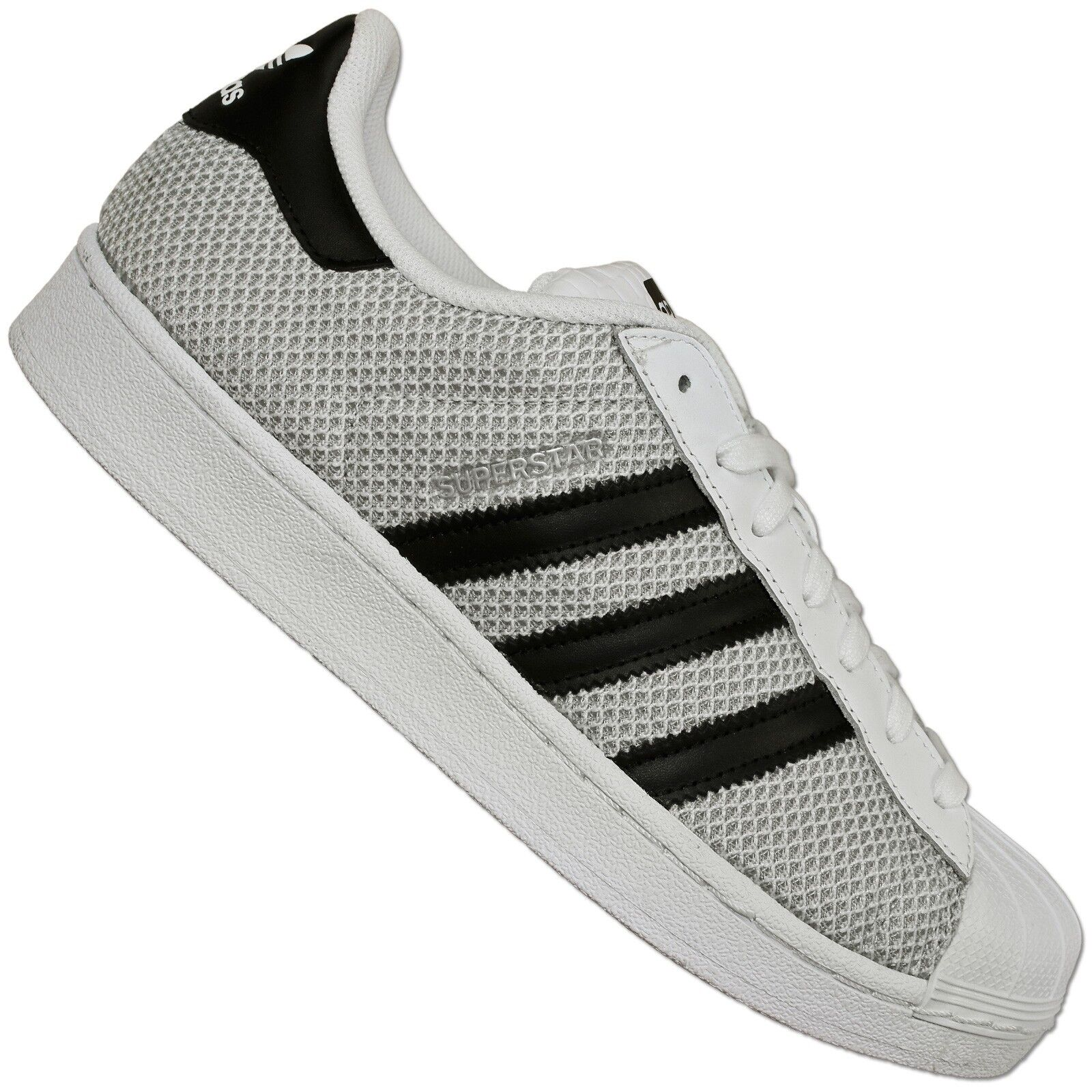 adidas Superstar Weave Pack S77853 | White, Black, Grey