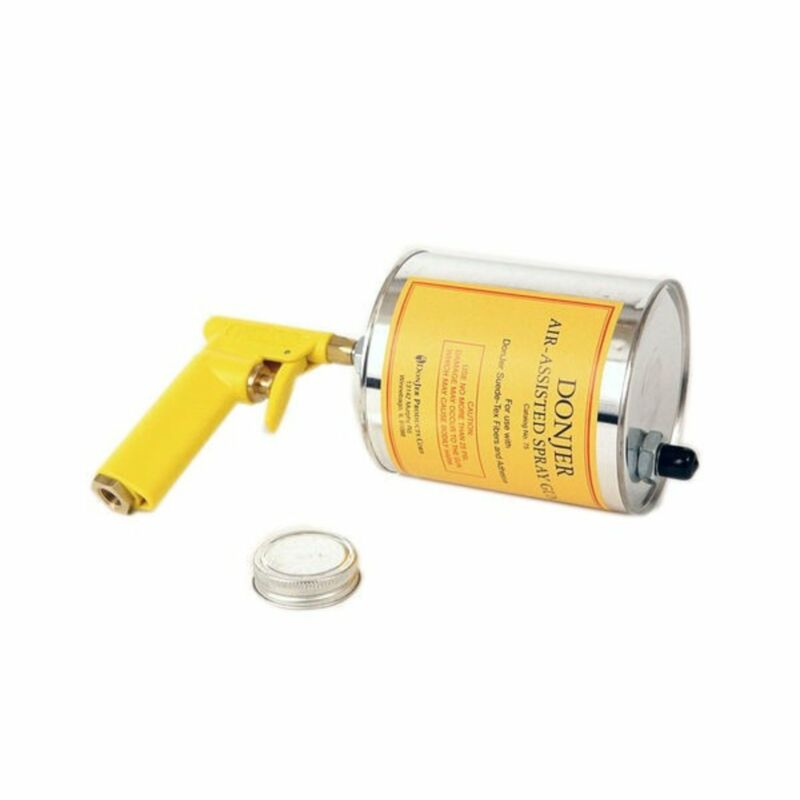 Donjer Air Assisted Spray Gun for Flocking Fibers