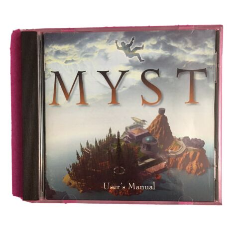 Computer Games - Myst for MacIntosh CD-ROM Vintage Computer Game
