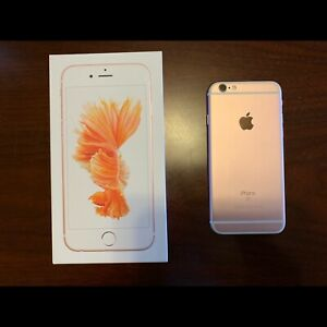 iPhone 6S Rose Gold 32GB unlocked with new battery from Apple