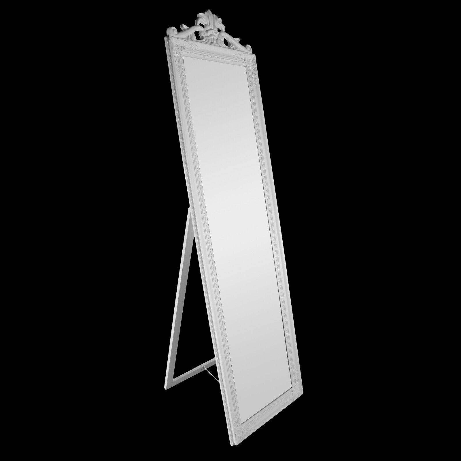 Standspiegel Barock Krone Ankleidespiegel Spiegel Garderobenspiegel 170 x 45 cm