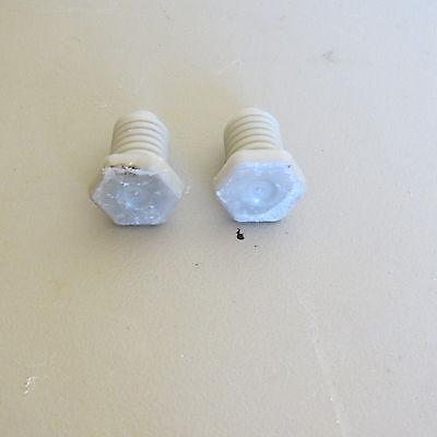 LEVEL FEET (2)  W10058460  FOR AMANA AER5844VAW0 ELECTRIC RANGE