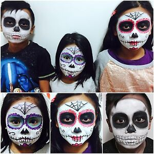 Face painting perfect for Halloween! Concord Canada Bay Area Preview
