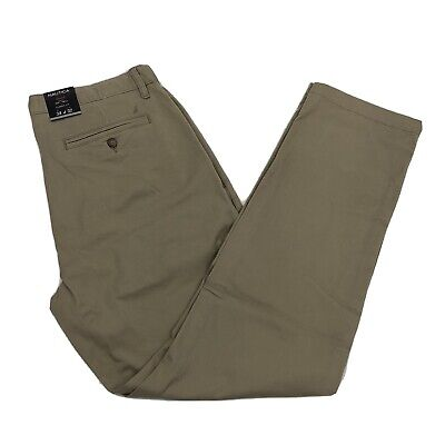 NEW Nautica Mens Chino Pants Stretch Classic Fit Soft Twill Khaki