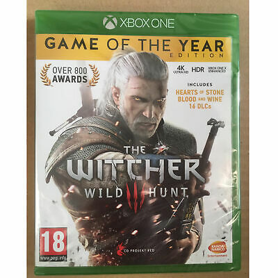 The Witcher 3 III Wild Hunt Game of the Year (Xbox One) GOTY New and Sealed